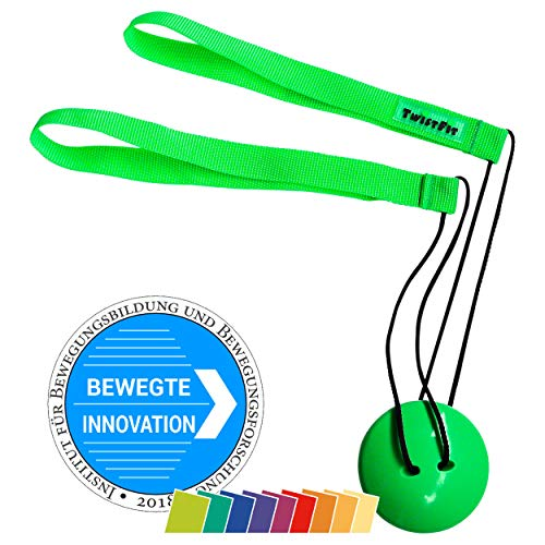 TwistFit® original u. patentiert - Fitness-Studio im Taschenformat, grün