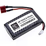 Soyee RC Cars Replacement Battery, 1600mAh Li-Po Rechargeable Battery 9125 Truggy High Speed Truck Accessory Supplies