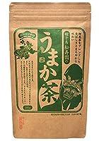 種子島松寿園 粉末茶入りのおいしい煎茶 鹿児島県産 うまか茶 300グラム たっぷり飲める徳用パック 減農薬栽培の高級茶葉使用
