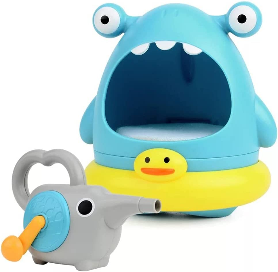 YOUMIYH Baby Shower Toys Shark C Foam Bubbles Machine Popular shop is Outstanding the lowest price challenge Blowing