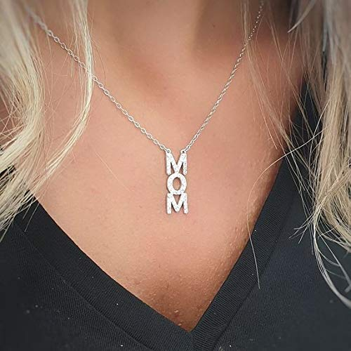 Silver Max 48% OFF MOM Necklace Personalized Topics on TV Custom Jewelry Name