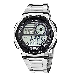 Casio Collection Men's Watch AE-1000WD-1AVEF (B0039UT5Q8) | Amazon price tracker / tracking, Amazon price history charts, Amazon price watches, Amazon price drop alerts