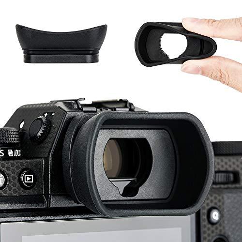 Kiwifotos Augenmuschel Okular für Fujifilm Fuji X-T4, X-T3, X-T2,X-T1, GFX100S, GFX100, GFX-50S, X-H1 Ersatz Ersetzt Fujifilm EC-XT L, EC-GFX, EC-XT M, EC-XT S, EC-XH W Eyepeice Cup