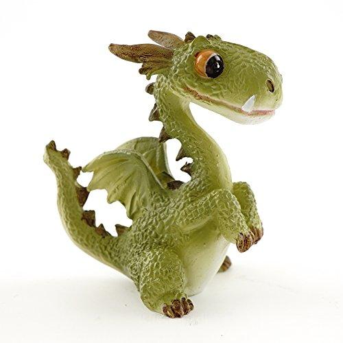 Top Collection 4412 Miniature Fairy Garden & Terrarium Mini Dragon Statue, Small