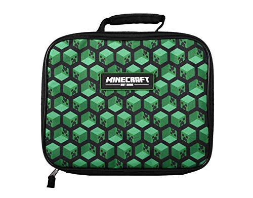 MInecraft Kinderen Minecraft Creeper Lunch Box School Lunch Tas