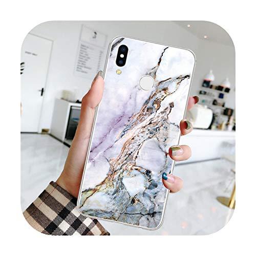 Fun-boutique - Funda de TPU 3D de mármol para Huawei P30 Pro P20 Lite P9 P8 P10 Mate 10 20 30 Lite Pro 2017 Funda para Huawei P Smart Z Plus 2019 Coque-Dlslanhz-P9 Lite 2017