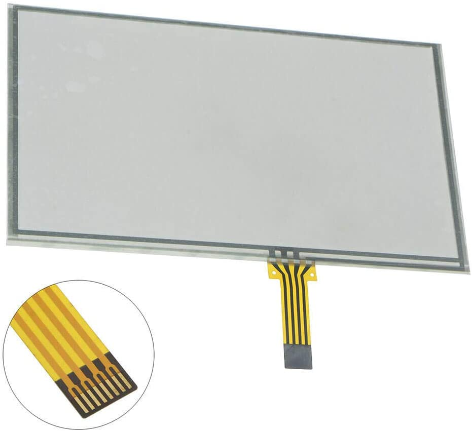 Navigation Touch Screen Digitizer Glass Panel Fit For Jeep Patriot Uconnect MyGIG Radio 2010-2017 6.5-inch 430 RBZ RB2 430N RHB Stereo Receivers Audio Video Multimedia System Fix Repair GZTAUTO