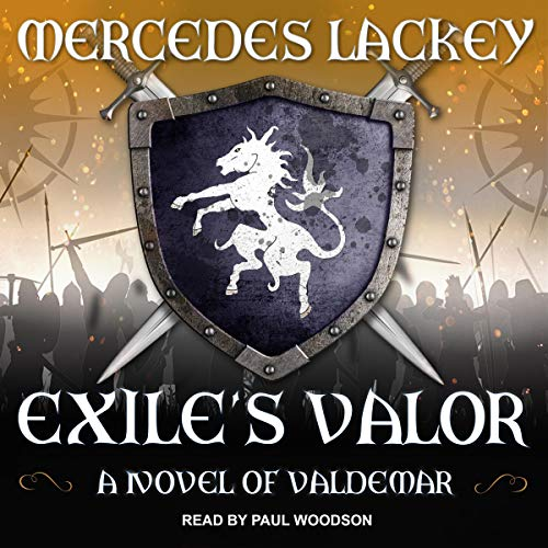 Exile's Valor audiobook cover art