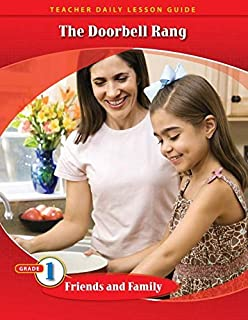 Pathways Grade 1 Friends and Family Unit: The Doorbell Rang Daily Lesson Guide + Teacher Resource 6 Year License