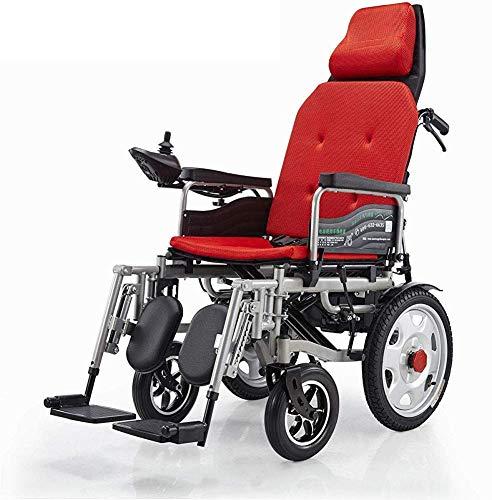Inicio Accesorios Ancianos Discapacitados Elektrorollstuhl Faltbar Rollstuhl Reclinable R uuml ckenlehne Justierbare Tragbare Medizinische Scooter Unterst uuml tzungen 265 Lb Automatischer Intellig