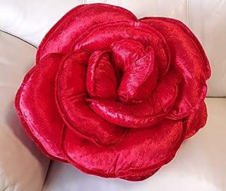 Cojín de lujo - color rojo fuego