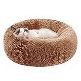 Kimpets Snuggle Dog Bed, Comfy Calming Dog Bed,...