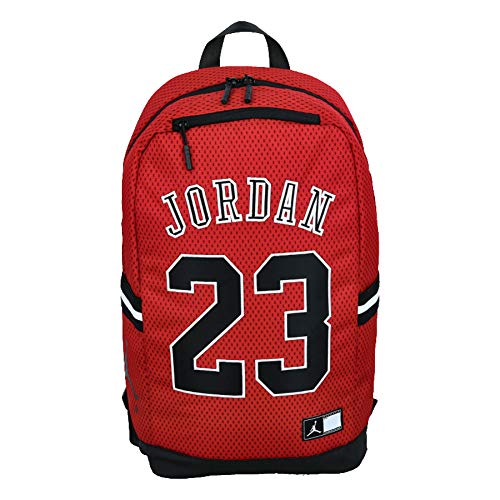 Nike Air Jordan 23 Jersey Backpack (One Size, Gym Red)