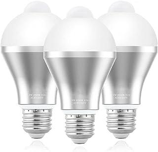 AUNMAS Ampoule de détecteur de Mouvement, Ampoules intelligentes de LED de PIR d'EECOO 9W lumières de sécurité Marche/arrê...