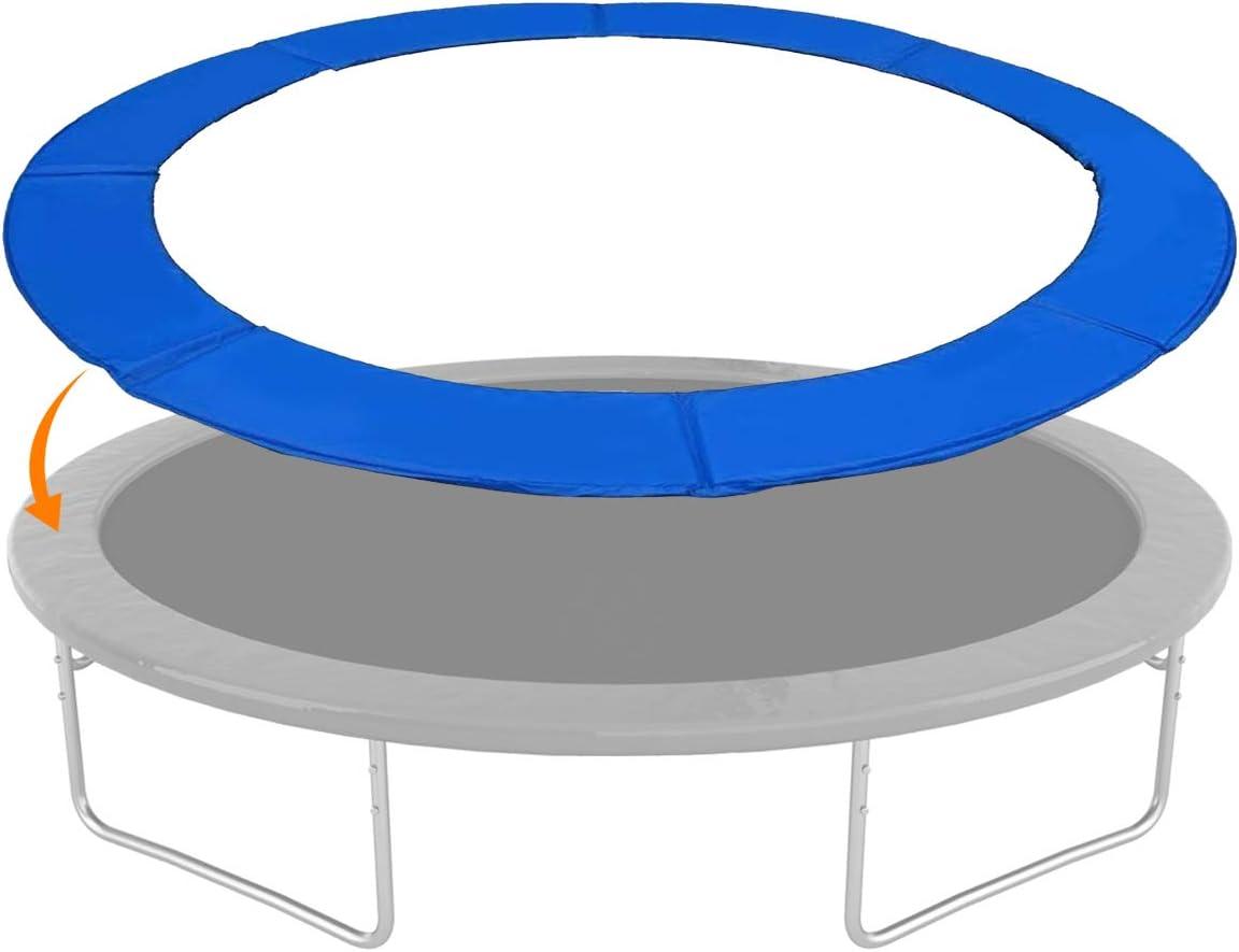 GYMAX Trampoline Pads, 15' Safety Frame Pad Edge Cover Spri