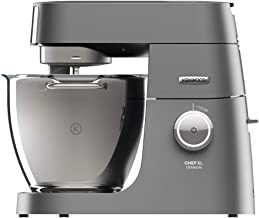 Kenwood Chef XL Titanium, Stand Mixer 6.7L - Kitchen Machine, KVL8300S, Silver