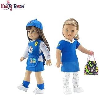 Junior Scout Uniform  by American Fashion World for 14/'/' Dolls