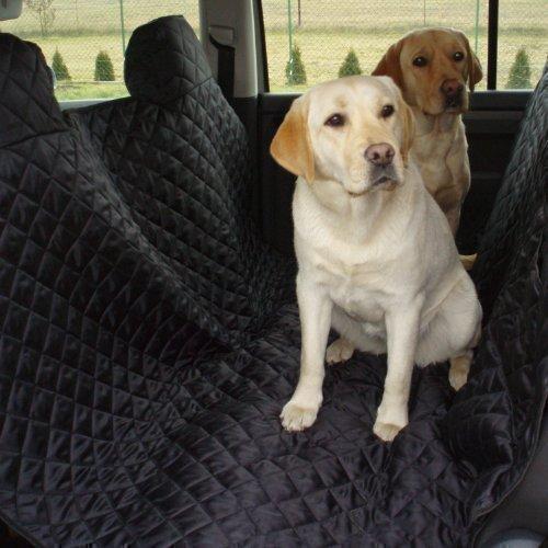 tierlando Autoschondecke MAX Auto Hundedecke Schutzdecke 160 180 200cm x 140cm Größe: SM 180 cm | Farbe: 03 Schwarz