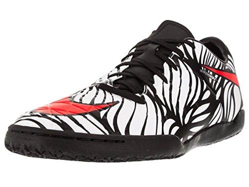 Nike Hypervenom Phelon II NJR IC, Botas de fútbol para Hombre, Negro/Rojo/Blanco (Black/Bright Crimson-White), 39 EU