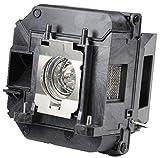 Decinat V13H010L68 ELP-LP68 for Epson Projector Lamp Replacement Powerlite Home Cinema 3010 3020 Assembled with Genuine Original Osram P-VIP Bulb (OEM Inside)