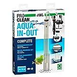 JBL PROCLEAN AQUA IN-OUT COMPLETE 6142100, Wasserwechselset für Aquarien, Inkl. Bodenreiniger, Schlauch und Ansaugpumpe, Anschluss an Wasserhahn
