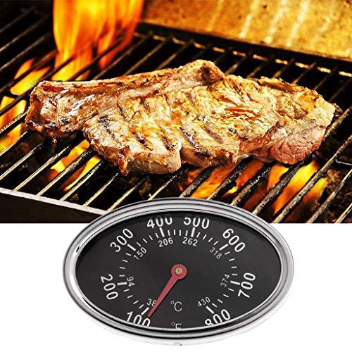Yiwann Keuken Koken Thermometer, Roker Gas Grill Deksel Thermometer Gauge Camping Koken Temp Warmte Indicator