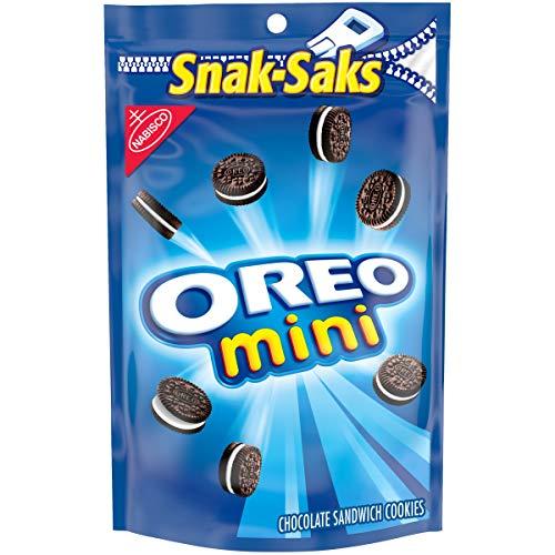 OREO Mini Chocolate Sandwich Cookies, 8 oz Snack Sak