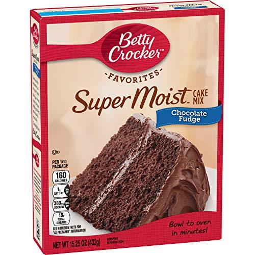 Betty Crocker Super Moist Cake Mix, Chocolate Fudge, 15.25 oz