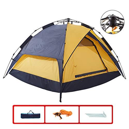 JX-ZHANGPENG Camping Tent Dubbele Driepersoons Draagbare Outdoor Tent Automatische Camping Apparatuur Touw Snelheid Open Tent, voor Familie in Reizen, Vissen
