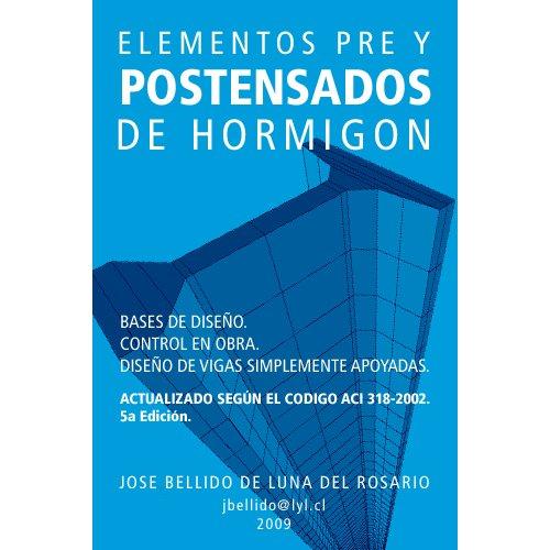 Elementos Pre y Pos tensados, Manual de Diseño.