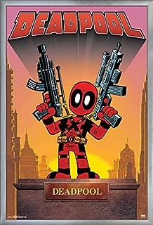 Trends International Marvel Comics - Deadpool - Statue Wall Poster, 22.375