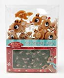 Rudolph & Island of Misfit Toys String of 12 LED Lights - Battery Powered (8 Feet Long)