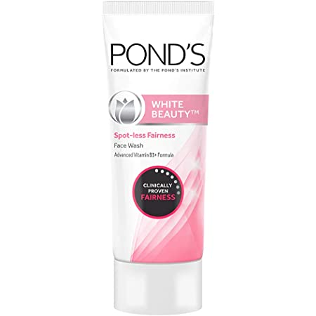 POND'S White Beauty Spot Less Fairness Face Wash, Removes Dead Skin And Dark Spots, 200 g