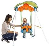 FEBER Famosa 80000900005 - Sonnenschaukel - Gartenspiele Schaukel für Kinder von 1 bis 3 Jahren