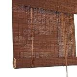 ZXL Außenpatio Roller Shades mit Valance, Bambus Rollo Veranda Pergola Balkon Privacy Screen Sonnenschutz (Size : 80cm×160cm)