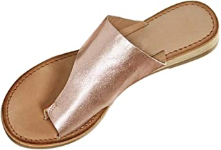 Women's Flats Wedges Comfy Platform Sandal Shoes Summer Open Toe Ankle Casual Shoes Roman Beach Slippers Sandals