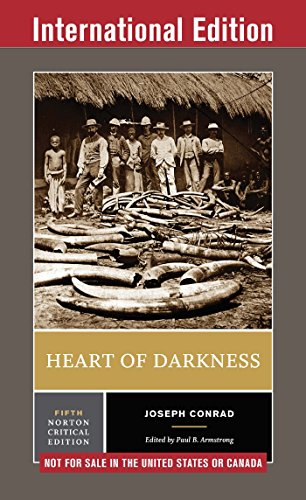 Heart of Darkness (Fifth International Student Edition)  (Norton Critical Editions) (English Edition)