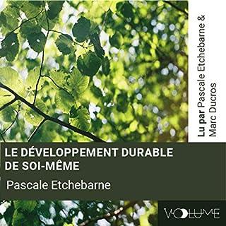 Couverture de Le développement durable de soi-même