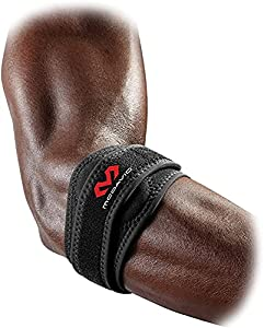 Best for helping to relieve painful tennis/golf elbow symptoms through targeted pressure Dual Sorbothane pads provide targeted, pain-relieving pressure Latex-free, neoprene construction provides thermal/compression therapy and soft tissue support Adj...