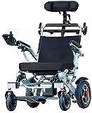Sillas de ruedas eléctricas para adultos Silla de ruedas eléctrica plegable de...
