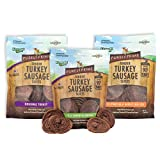 Emerald Pet - Purely Prime Tender Turkey Sausage Slices Variety Pack, All Natural, Grain Free, Gluten Free,...