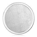 New Star Foodservice 50653 Seamless Aluminum Pizza Screen, Commercial Grade, 8-Inch
