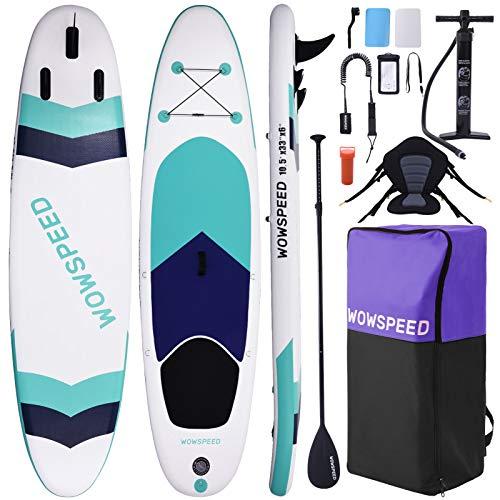 Tablas Paddle Surf,320×84×15cm Tablas De Paddle Surf Hinchable,Paddel Surf Hinchable Adulto con Paleta Ajustable& Accesorios Completos Tabla Surf Hinchable Deportes Acuáticos De Verano (D)