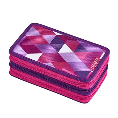herlitz 50021062 Triple Decker Pink Cubes, 31-teilig, 1 Stück