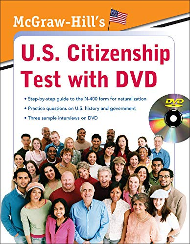 McGraw-Hill\'s U.S. Citizenship Test with DVD [With DVD]