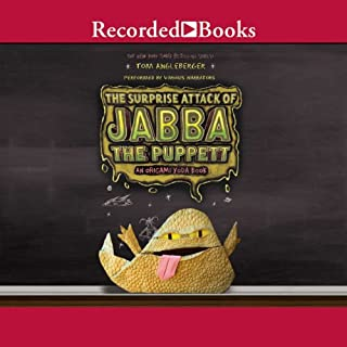 The Surprise Attack of Jabba the Puppett audiobook cover art