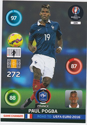 Panini Adrenalyn XL Road to UEFA Euro 2016 – Paul Pogba Game Changer