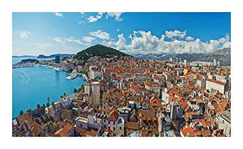 AJMINI Jigsaw Puzzle Croacia-5800 Los mejores rompecabezas para rompecabezas de adultos, se puede decorar