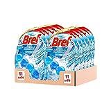 Bref Gel Brillante Todo en 1, Colgador en Gel para el WC, Fragancia Océano Ártico - Pack de 11 unidades