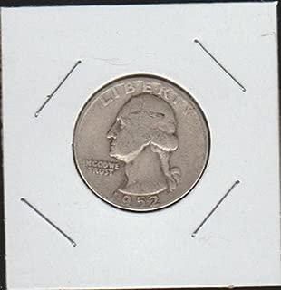 1952 D Washington (1932 to Date) Quarter Very Good